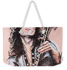 Jimmy Page Weekender Tote Bag by Melanie D