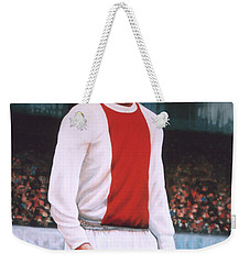 Johan Cruijff  Weekender Tote Bag by Paul Meijering