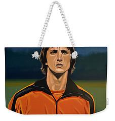 Johan Cruyff Oranje Weekender Tote Bag by Paul Meijering