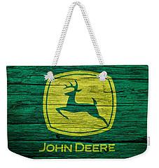John Deere Barn Door Weekender Tote Bag by Dan Sproul