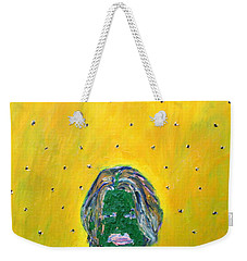 Johnny And Many Flies Weekender Tote Bag by Fabrizio Cassetta