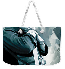 Johnny Cash Artwork 3 Weekender Tote Bag by Sheraz A