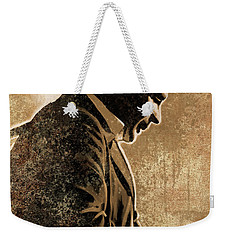 Johnny Cash Artwork Weekender Tote Bag by Sheraz A
