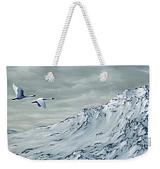 Journey Weekender Tote Bag by Rick Bainbridge