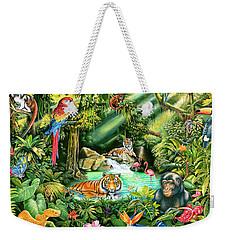Jungle Variant 1 Weekender Tote Bag by Mark Gregory