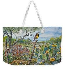 Meadowlark Weekender Tote Bag by Don Hand
