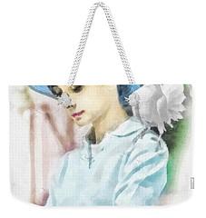 Just Audrey Weekender Tote Bag by Mo T
