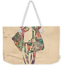 King Of Pop In Concert No 11 Weekender Tote Bag by Florian Rodarte