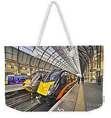 Kings Cross Variety  Weekender Tote Bag by Rob Hawkins