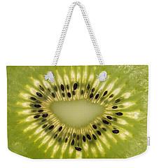 Kiwi Detail Weekender Tote Bag by Steve Gadomski