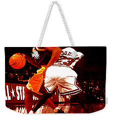 Kobe Spin Move Weekender Tote Bag by Brian Reaves