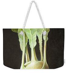 Kohl Rabi, 2012 Acrylic On Canvas Weekender Tote Bag by Lincoln Seligman