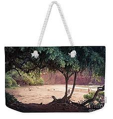 Koki Beach Kaiwiopele Haneo'o Hana Maui Hikina Hawaii Weekender Tote Bag by Sharon Mau