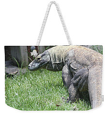 Komodo Dragon Weekender Tote Bag by Dan Sproul