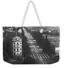 Ku Klux Klan Parade Weekender Tote Bag by Underwood Archives