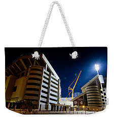 Kyle Field Construction Weekender Tote Bag by Linda Unger