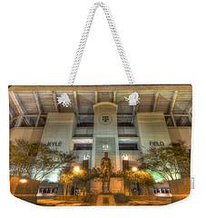 Kyle Field Weekender Tote Bag by David Morefield