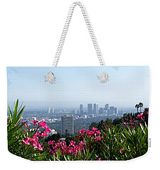 L.a. From Beverly Hills Weekender Tote Bag by Dany Lison