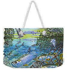 Lagoon Weekender Tote Bag by Carey Chen