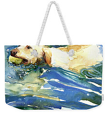 Lake Effect Weekender Tote Bag by Molly Poole