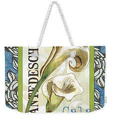 Lazy Daisy Lily 1 Weekender Tote Bag by Debbie DeWitt