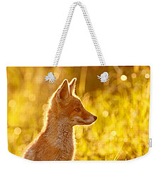Le P'tit Renard Weekender Tote Bag by Roeselien Raimond