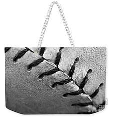 Leather Scars Weekender Tote Bag by Charles Dobbs