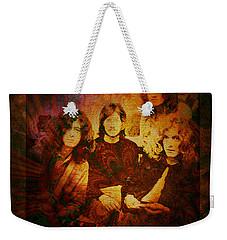Led Zeppelin - Kashmir Weekender Tote Bag by Absinthe Art By Michelle LeAnn Scott