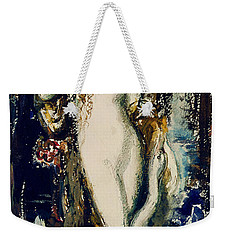 Leda  Weekender Tote Bag by Gustave Moreau