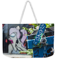 Leela In The Back Graffiti Weekender Tote Bag by Scott Campbell