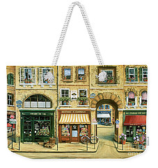 Les Rues De Paris Weekender Tote Bag by Marilyn Dunlap