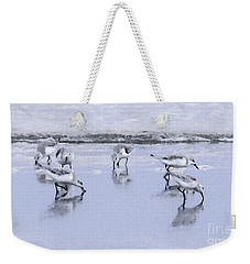Let's Do Lunch Weekender Tote Bag by Betty LaRue