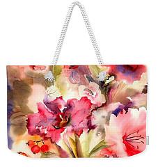 Lilies Weekender Tote Bag by Neela Pushparaj