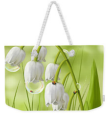 Lily Of The Valley Weekender Tote Bag by Veronica Minozzi