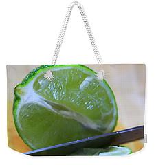 Lime Weekender Tote Bag by Dan Sproul