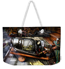 Little Mouse And The Moon Weekender Tote Bag by Alessandro Della Pietra