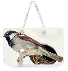 Little Sparrow Weekender Tote Bag by Karen Wiles