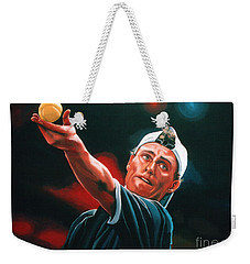 Lleyton Hewitt 2  Weekender Tote Bag by Paul Meijering