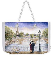 Locked In Love Weekender Tote Bag by Marilyn Dunlap