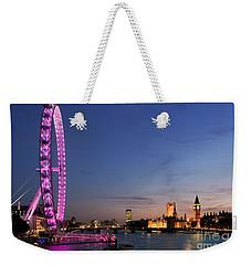 London Eye Weekender Tote Bag by Rod McLean