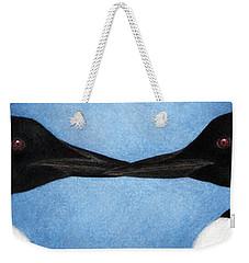 Loons Weekender Tote Bag by Pat Erickson