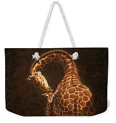 Love's Golden Touch Weekender Tote Bag by Crista Forest