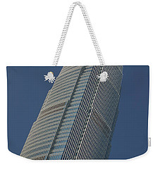 Low Angle View Of A Skyscraper, Two Weekender Tote Bag by Panoramic Images