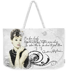 Lucky Weekender Tote Bag by Mo T