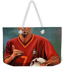 Luis Figo Weekender Tote Bag by Paul Meijering
