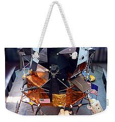 Lunar Module Weekender Tote Bag by Kevin Fortier