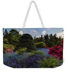 Lush Kubota Spring Landscape Weekender Tote Bag by Mike Reid
