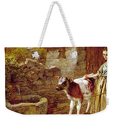 Maggie's Charge Weekender Tote Bag by John H Dell