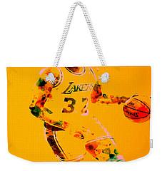 Magic Johnson Weekender Tote Bag by Brian Reaves