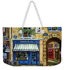 Maison De Vin Weekender Tote Bag by Marilyn Dunlap